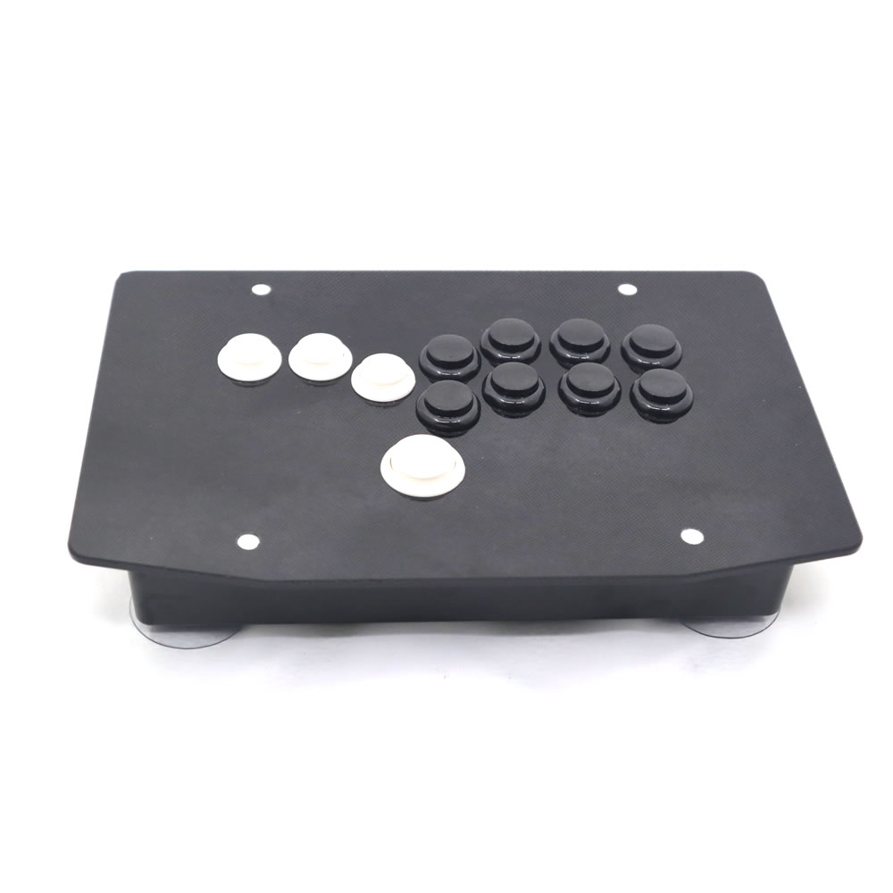 RAC J500B All Buttons Arcade Fight Stick Game Controller Hitbox Joystick For PC USB