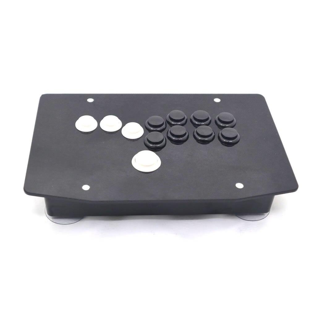 RAC J500B Alle Knoppen Arcade Fight Stick Game Controller Hitbox Joystick Voor PC USB-in Joysticks van Consumentenelektronica op  Groep 1