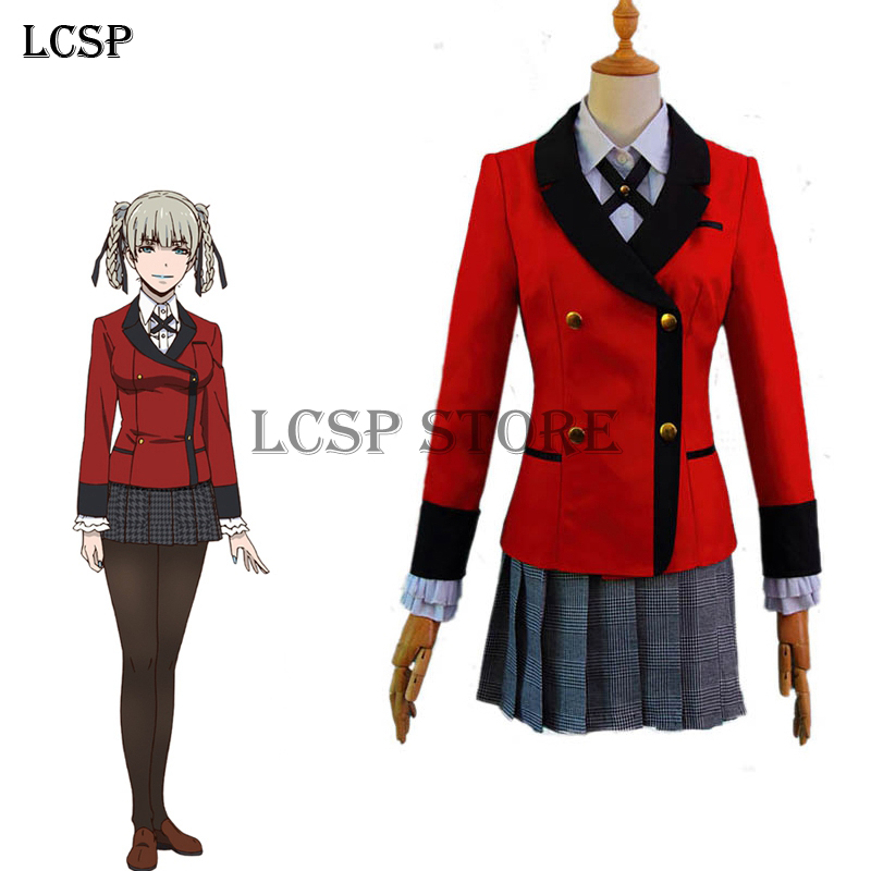 LCSP Kakegurui Twin Momobami Kirari Cosplay Costume ...