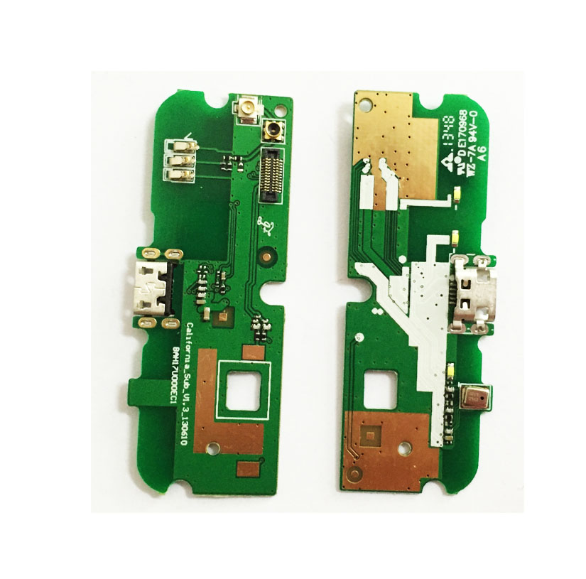 New Micro Dock Connector PCB Board USB Charging Port Flex Cable For Alcatel OT6012 OT 6012 Replacement Parts