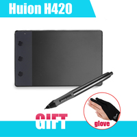 New Genuine HUION H420 USB Graphics Drawing Tablet 4 X 2 23 Digital Pen For Computer