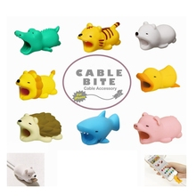 Cartoon Animal USB Cable Protector Cable Organizer Data Line Management Charging Protection Cable Winder For iPhone iPad iPod кабель a data lightning usb для iphone ipad ipod 1м золотистый amfial 100cmk cgd