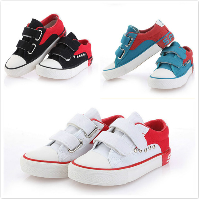Children Boy Sneakers Shoe Canvas Antiskid Breathable Rubber Sole Kids  Jordan Basketball Sport Shoes Boys Football