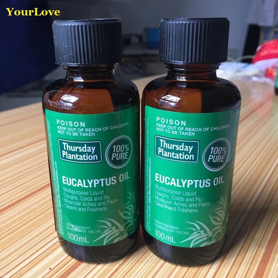 High Quality Thursday Plantation 100% Pure Eucalyptus Oil Relieve cold flu symptom arthritic muscular aches pains Massage oil цена