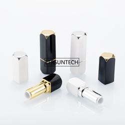 Мм 12,1 мм пустой белый черный контейнер для помады квадратный бальзам для губ трубки DIY средства ухода за губами Rouge Емкость для