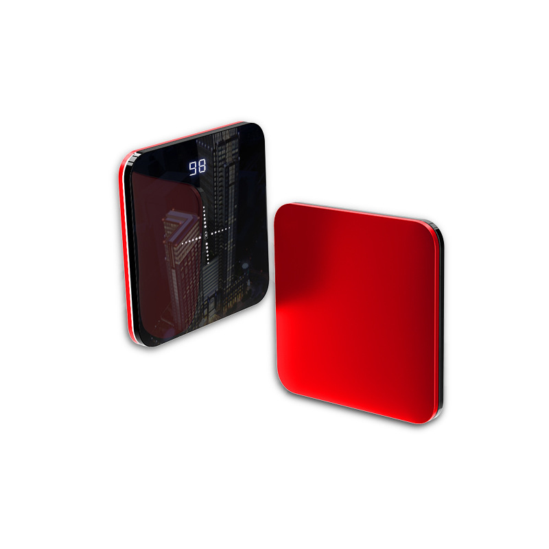 8000mAh QI Wireless Charger Mirror Mini Power Bank For iPhone Samsung Fast Charging External Battery Powerbank Dual USB Charger8000mAh QI Wireless Charger Mirror Mini Power Bank For iPhone Samsung Fast Charging External Battery Powerbank Dual USB Charger