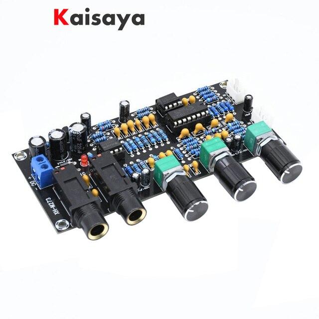 XH M273 PT2399 Digital Microphone Amplifiers Board Reverberation Karaoke OK Reverb NE5532 Pre amplifier Tone Board F4 011