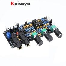 XH M273 PT2399 Dijital Mikrofon Amplifikatörler Kurulu Yankı Karaoke TAMAM Reverb NE5532 Ön amplifikatör Ton Kurulu F4 011