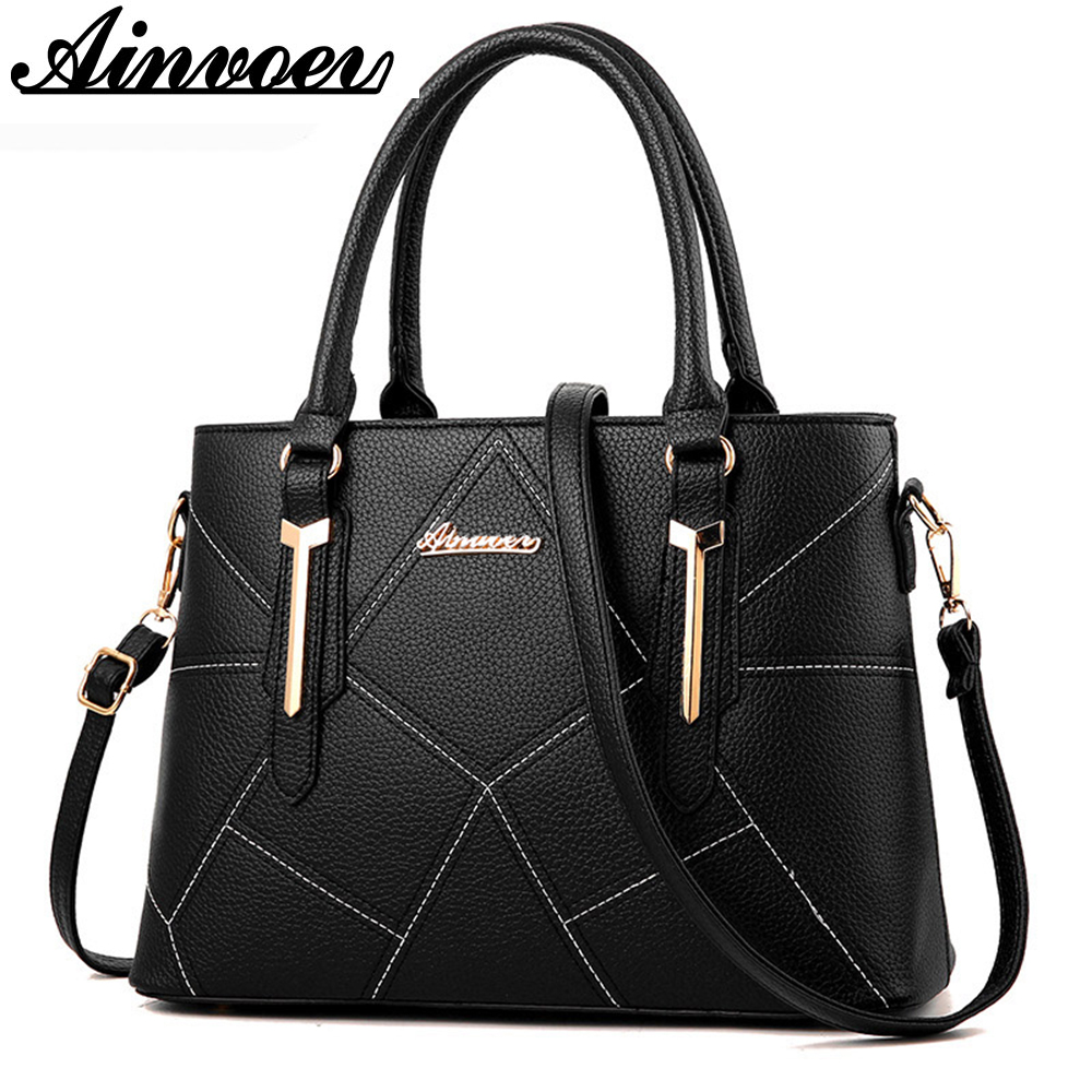 Ainvoev Women Handbags Pouch Fashion Ladies Totes Women Shoulder Messenger Bags Big Capacity Bolsa High Quality mother bag a3415 vogue star women bag for women messenger bags bolsa feminina women s pouch brand handbag ladies high quality girl s bag yb40 422