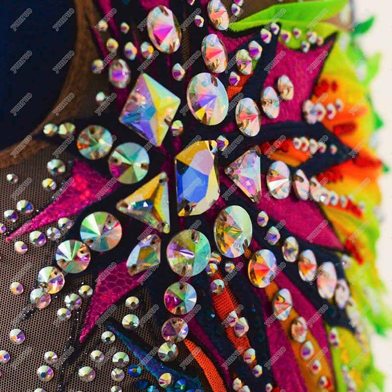 YANRUO 3200 rivoil Одежда высшего качества AAAAA шить-на риволи круглый кристалл cтекло пришить стразы камни для одежда платья