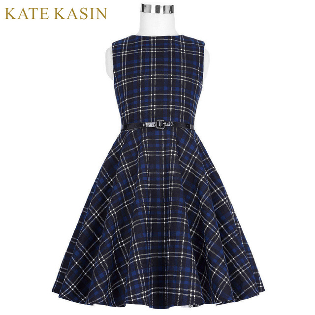 7acdd5646c44 Kate Kasin Baby Girls Floral Print A-Line Casual Beach Dresses With PU Belt  Sleeveless Crew Neck Robe Costume Sundress For Kids
