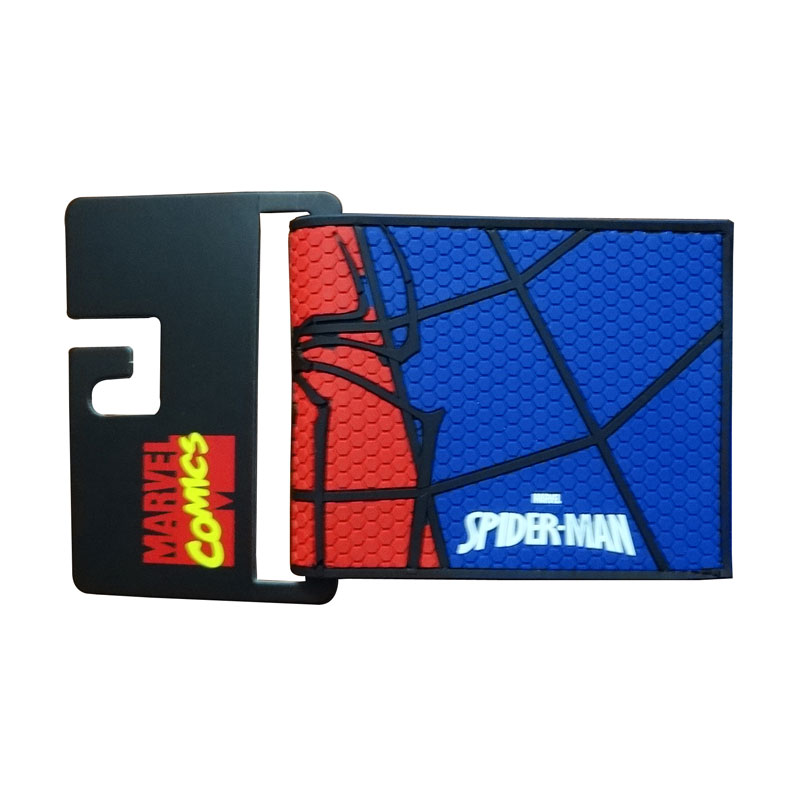 Hot Spider-man Short Wallet Avengers Anime Purse carteira masculina Dollar Price Card Money Bags Captain America PVC Men Wallets hot 2017 world of warcraft wallets cartoon anime purse gift for young students pu leather dollar bags casual short wallet