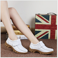Plus Size 35-41 Women Flat Shoes Soft Genuine Leather Mother Shoes Comfort Casual Shoes Female Autumn nurses shoes Women flats