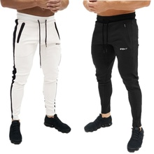 ZOGAA 2019 summer New Slim Solid Color Full Length Running Pants Male Sport Gym Casual Fashion Joggers Masculine Trousers S-2XL