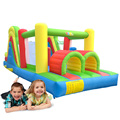 Jungle Bounce House Inflatable Trampoline Bouncer Jumper Moonwalk With Tunnel