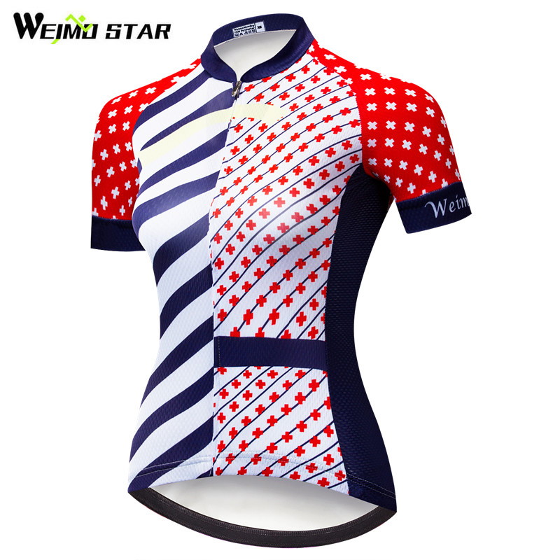 Weimostar Pro Team Velosiped Cersi Qadın Velosiped Köynəyi Yaz mtb Velosiped Cersi Downhill Breathable Velosiped Geyim Ropa Ciclismo