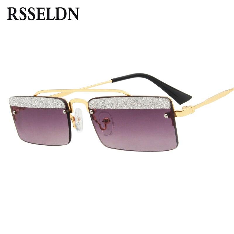 Aliexpress.com : Buy RSSELDN Rectangle Sunglasses Women