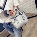 spring autumnwinter Wings  famous brand handbag cat ear shoulder bag messenger bag Toothpick Pattern Silver Pink