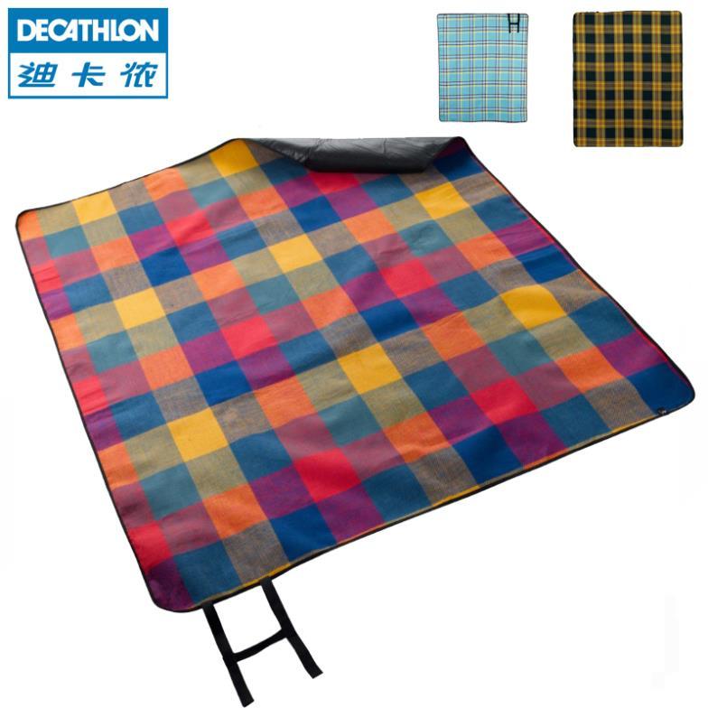 decathlon outdoor picknick camping matte aufblasbare schlafen matten camping picknick esterilla camping stoff quechua