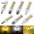 LED Corn Bulb 20W 5730 SMD GU10 G9 B22 Bayonet E14 E27 E12 72 Chips Warm Cold White AC 110V 220V 240V Spotlight Candle Lampada