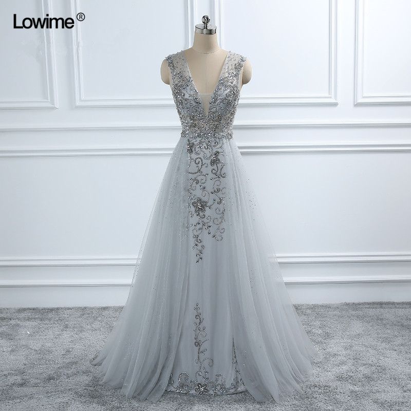 Sexy Arabic Long Elie Saab Crystal Formal Evening Prom Party Dress Turkish  Abiye Evening Gowns Dresses ... 519de747cc95