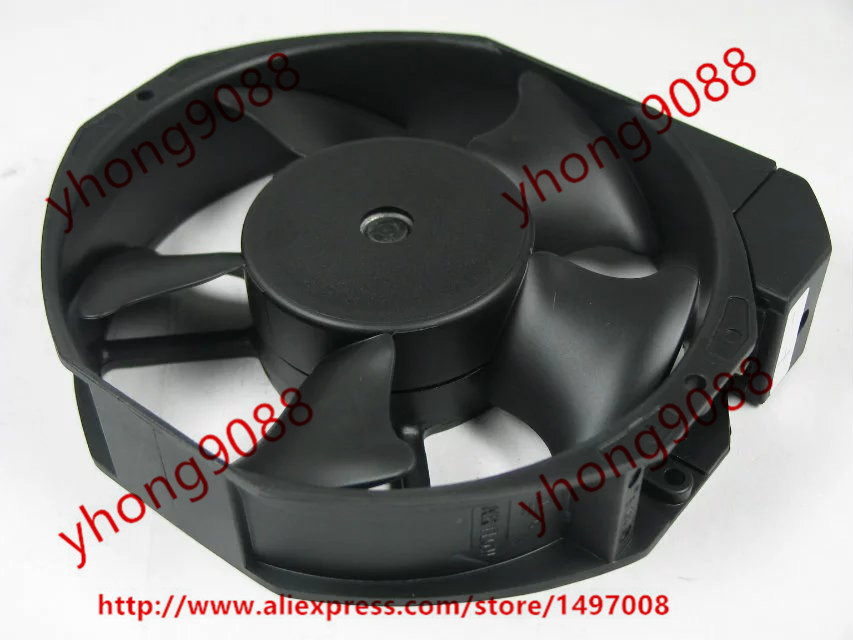 Emacro For ETRI 148DH2TM11000 148DH Server Round Fan DC 24V 16.4W 170x170x38mm free shipping emacro arx fs1250 a1042a dc 12v 0 19a 2 wire 2 pin connector 70mm server round cooling fan