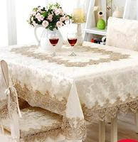 361# European embroidery table cloth mat tablecloth lace tablecloth table dinner ornament runner square round Garden wholesale