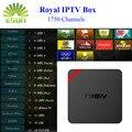 Mini MX plus con Royal Árabe IPTV IPTV 1730 + livetv Francés Italia T95N IPTV Android TV Box Quad Core Smart TV Caja Amlogic S905