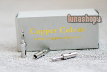 Copper Colour CC rhodium Plated Audio Speaker Banana Adapter
