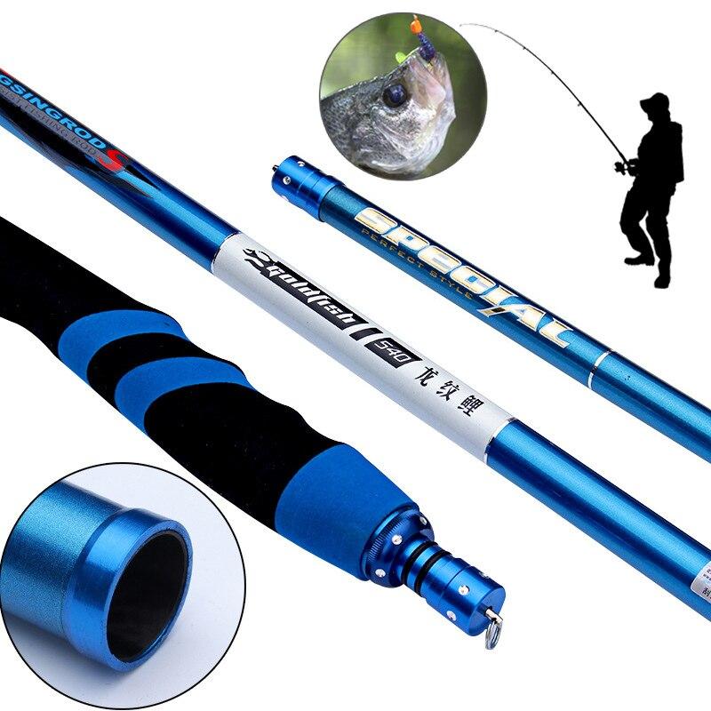 Fishing-Rod Telescopic Ultralight Stream FRP For Freshwater B2cshop Wear-Resistant