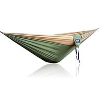 Army Green Khaki Double Outdoor Hammock