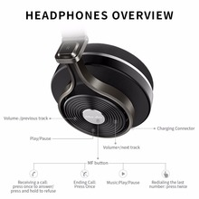 Bluedio T3 Bluetooth headphones BT4.1 stereo and rich bass Bluetooth headset