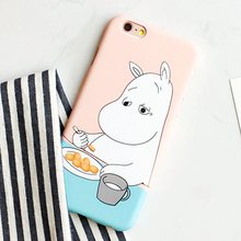 Cartoon Hippo Phone Case iPhone  5 5s and 6 6S Plus