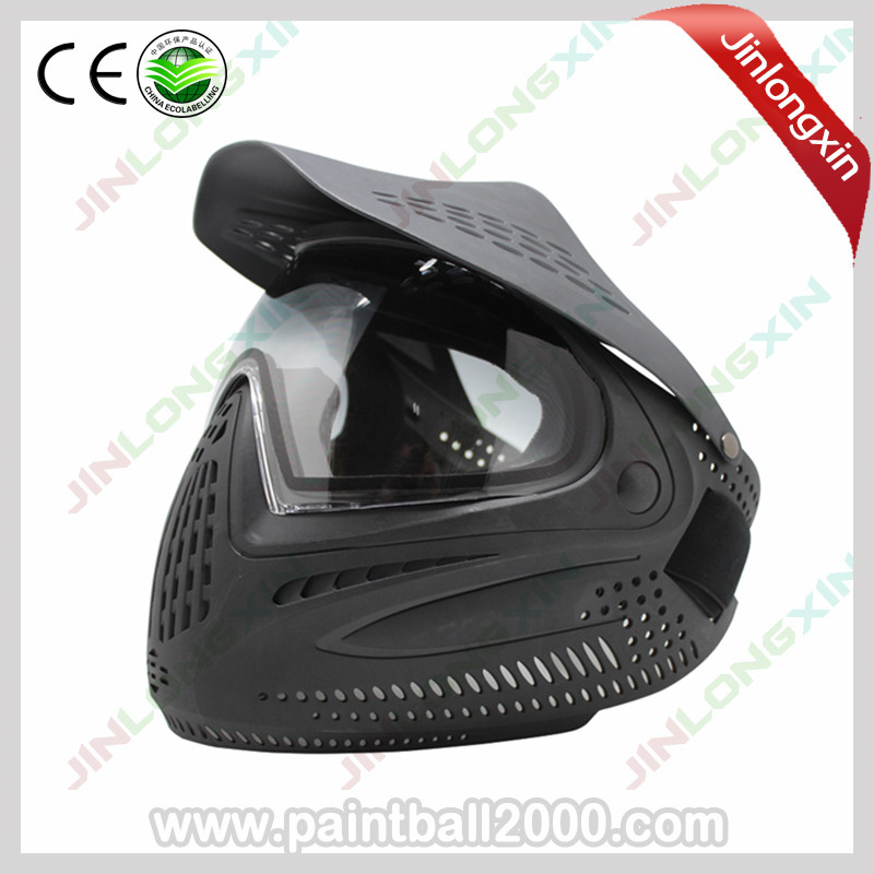 SPUNKY Thermal Lens Airsoft Paintball Mask with Visor-in Paintball Accessories from Sports & Entertainment    1