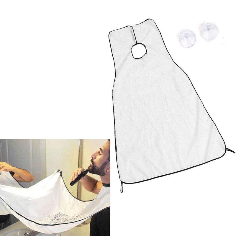 Men Bathroom Beard Shaving Apron Towel Keep Tiny Beard Cleaning Apron Beard Storage Cloth Waterproof Floral