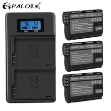 3Pcs EN-EL15 EN EL15 ENEL15 EL15A Batteries + LCD Dual USB Charger for Nikon D600 D610 D600E D800 D800E D810 D7000 D7100 d750 V1 цена и фото