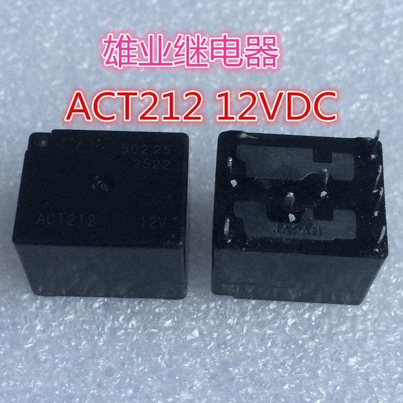 ACT212 12V   Relay 12VDC 160 8PIN