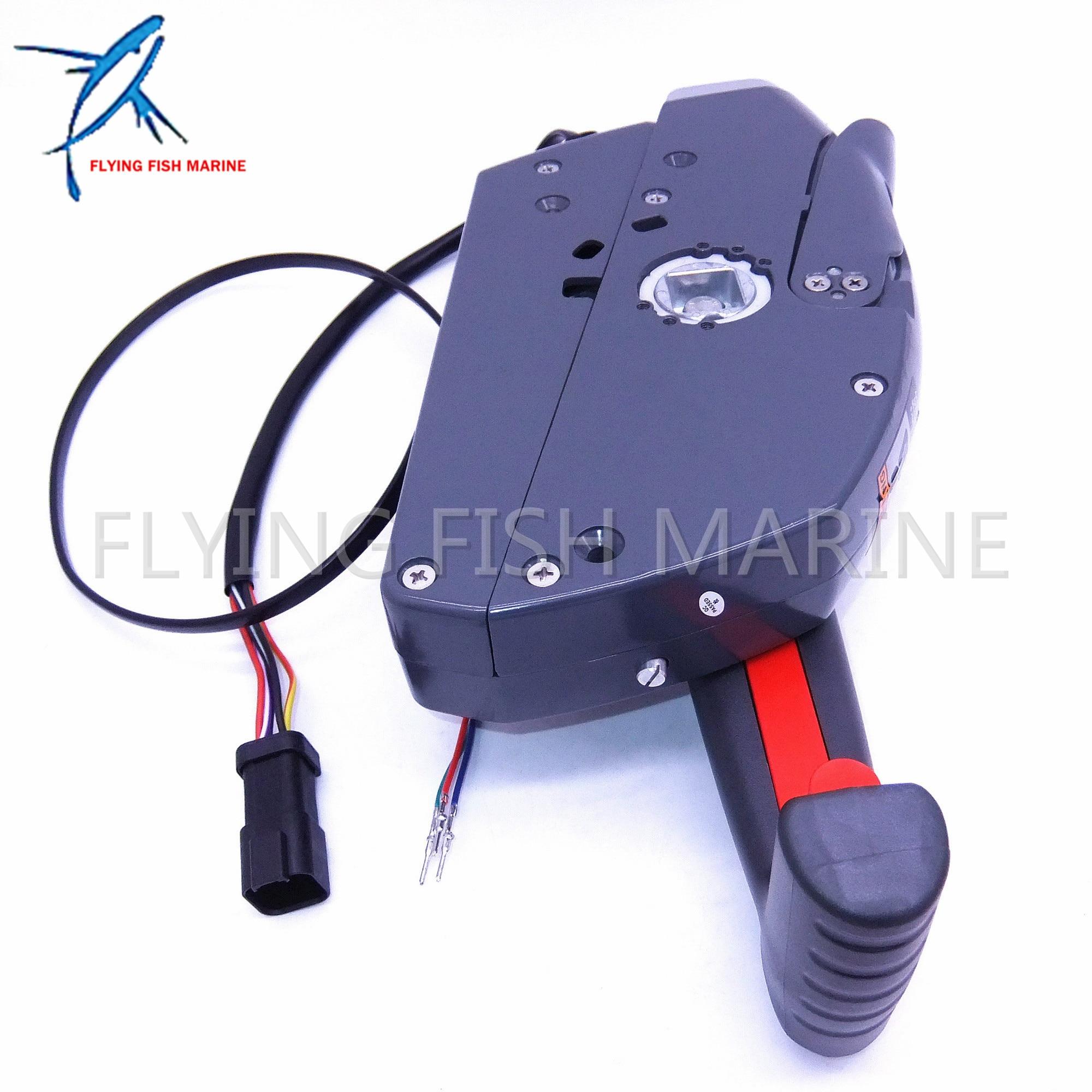 Mophorn Boat Throttle Control 24800-ZZ5-A22 Boat Control Box Side ...