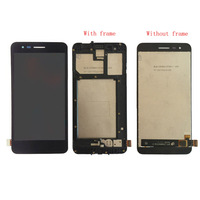 Voor LG K7 2017X230 X230i X230K Lcd Touch Screen Digitizer met Frame Assembly of LCD Geen frame voor K4 2017 LCD display