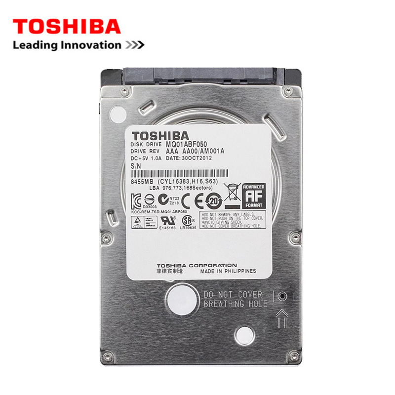"TOSHIBA Brand 1000GB 2.5"" SATA2 Laptop Notebook Internal 1TB HDD Hard Disk Drive 1.5GB/s 2/8mb 5400-7200RPM disco duro interno"