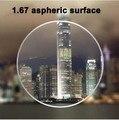 I-bright 1.67 index super thin aspherical surface resin lenses anti-radiation prescription myopia/presbyopia optical lenses