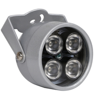 Cctv 4 Array IR Led Illuminator Light CCTV IR Infrared Night Vision For Surveillance Camera