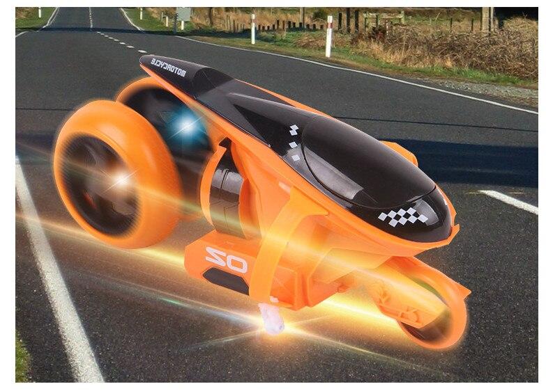 Cool mini RC motos jouet pour garçons enfants cadeau jouets électriques intérieur extérieur présent