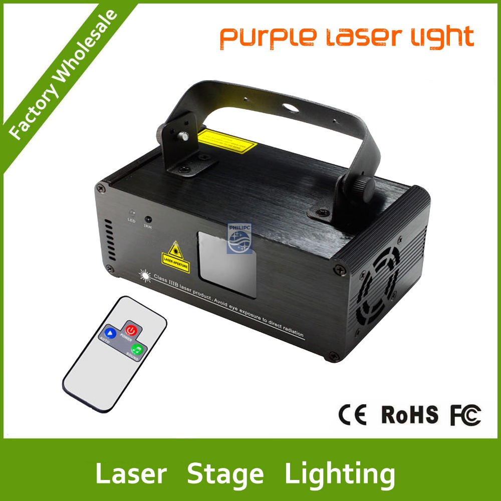 DHL Free shipping Purple laser Line scanner remote sound DJ dance bar Xmas Party Disco DMX lighting effect Light stage Show free shipping kapro 810 line laser with nail and screw grip line generator distance 20ft