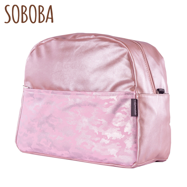 Soboba Camouflage Diaper Bags For Mummy With Straps Hanging On Stroller Large Capacity 18l Fashion New