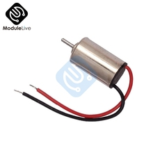 5PCS DC 1.5V 3V Micro DC Motor 610 Hobby Gear Toy Motor High Speed Brushless DC Motor New High Quality