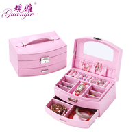 Guanya New Design Jewelry Boxes And Packaging Velvet Stud Earrings Collection Creative Jewelry Display Jewellery Gift