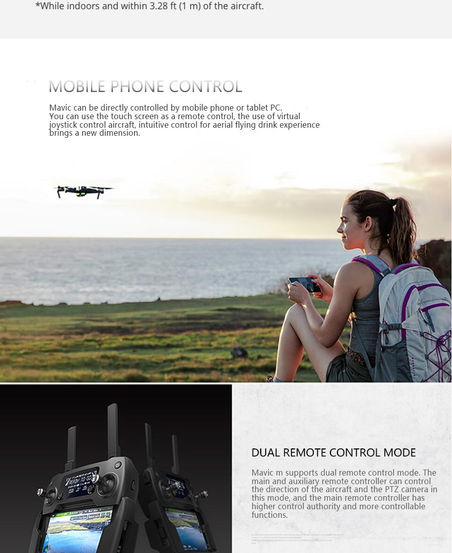 DJI Mavic  Fly More Combo with 4K HD Video Recording 30mins Flight time 7km Remote Control dji mavic pro drone_05