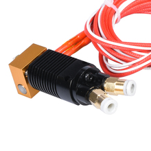 12/24V 40W 2 in 1 out colors hotend extruder kit 1.75MM upgrade For CR 10 CR10S PRO Ender 3 3d printer parts