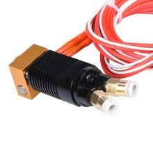 Hotend extrudeuse kit dextrudeuse 1.75MM, pièces dimprimante 3d, mise à niveau pour CR 10 CR10S PRO Ender 3, 2 en 1, 12/24V, 40W